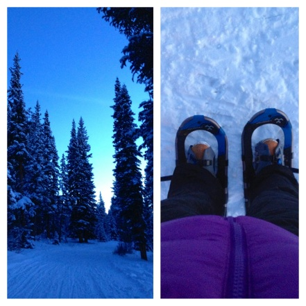 Snowshoeing to Tennessee Pass Cookhouse